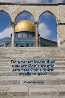 Do you not know that you are God's temple