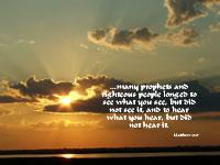 Matthew 13.17