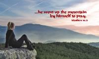 Matthew 14.23