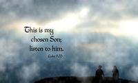Luke 9.35