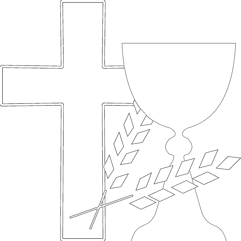 Coloring Pages - Jesus Walks On Water