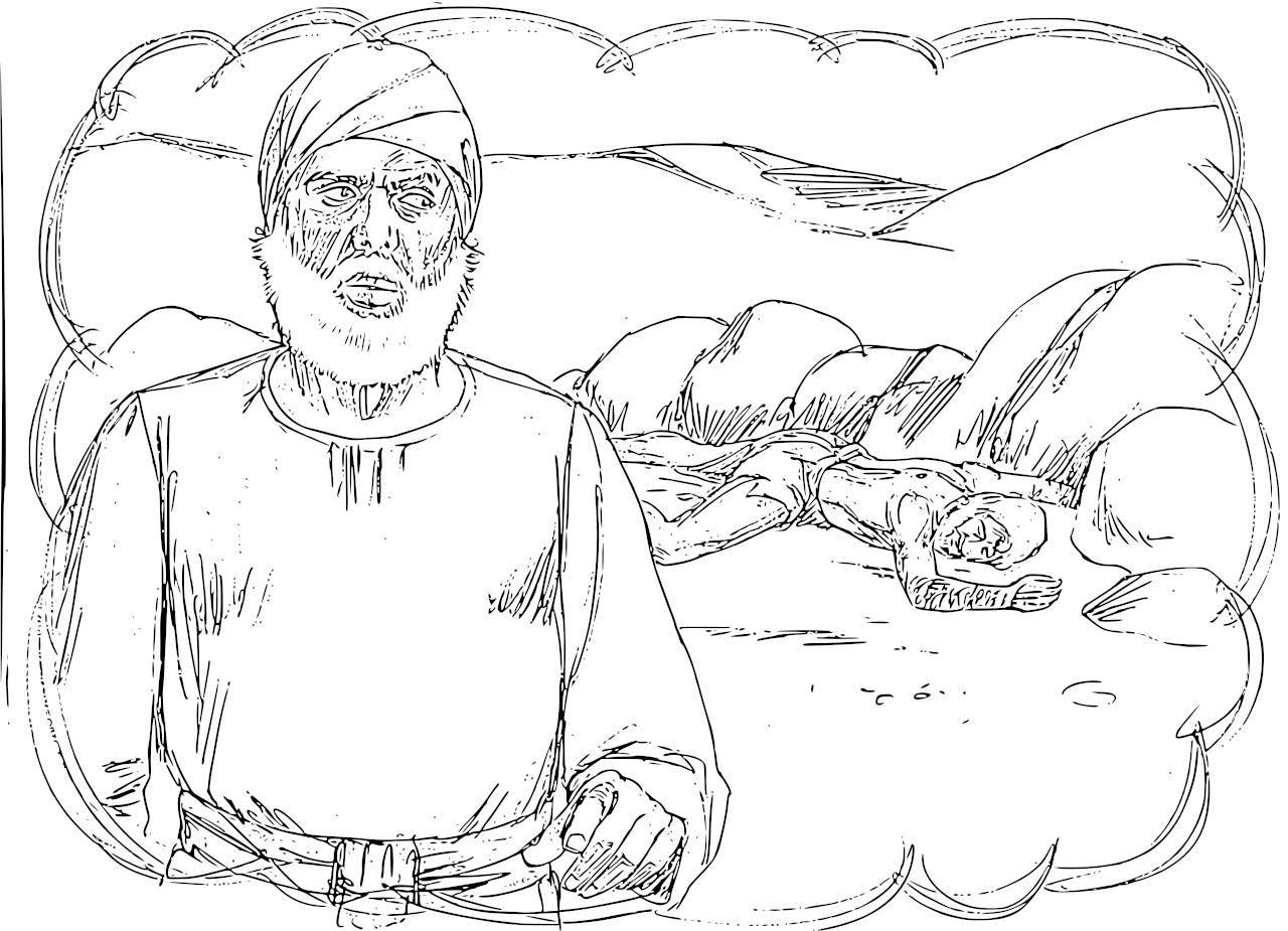 Coloring Pages Parable Of The Good Samaritan